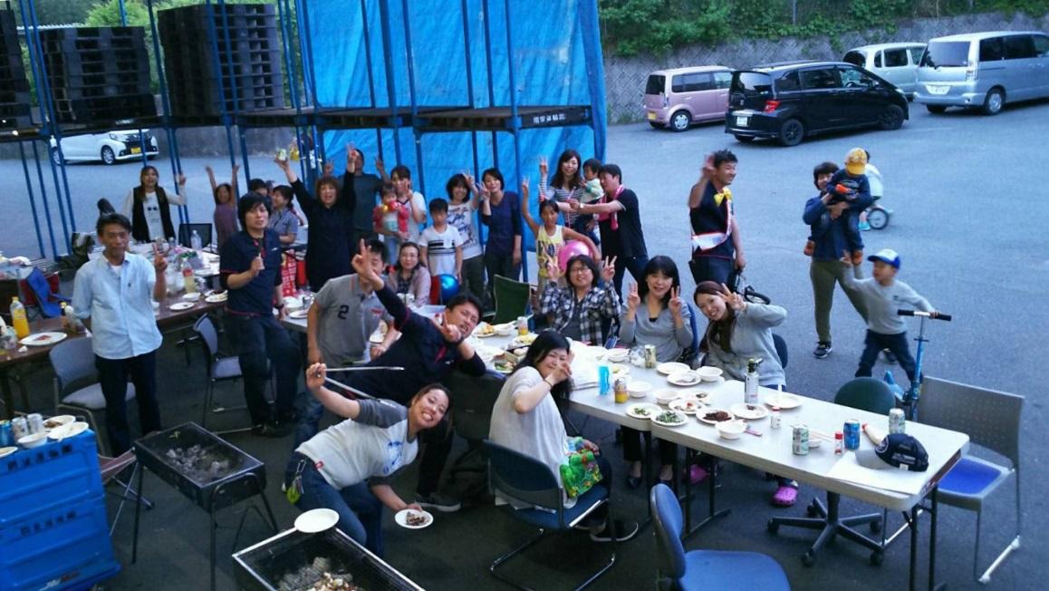 創立1周年記念感謝BBQ会、開催!!